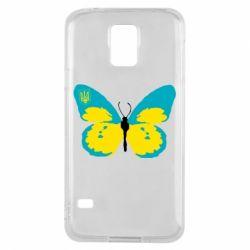 Чохол для Samsung S5 Український метелик