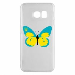 Чохол для Samsung S6 EDGE Український метелик