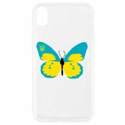 Чехол для iPhone XR Український метелик
