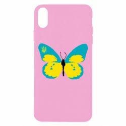 Чохол для iPhone Xs Max Український метелик