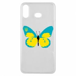Чохол для Samsung A6s Український метелик