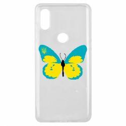 Чехол для Xiaomi Mi Mix 3 Український метелик