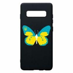 Чохол для Samsung S10+ Український метелик