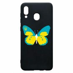Чохол для Samsung A20 Український метелик