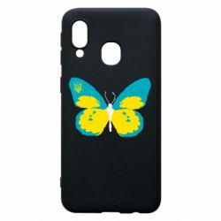 Чехол для Samsung A40 Український метелик