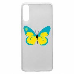 Чохол для Samsung A70 Український метелик