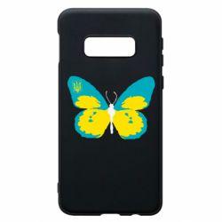 Чохол для Samsung S10e Український метелик