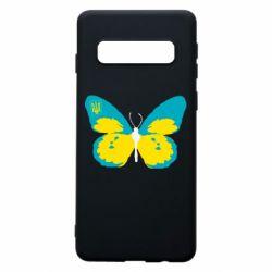 Чехол для Samsung S10 Український метелик