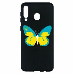 Чохол для Samsung M30 Український метелик