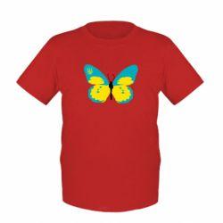 Детская футболка Український метелик - FatLine