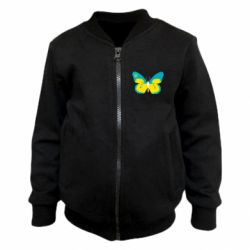 Детский бомбер Український метелик