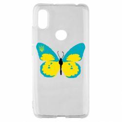 Чехол для Xiaomi Redmi S2 Український метелик