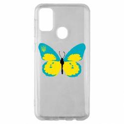 Чохол для Samsung M30s Український метелик