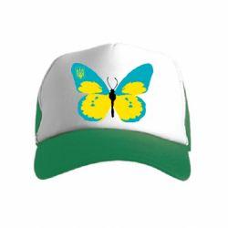Детская кепка-тракер Український метелик