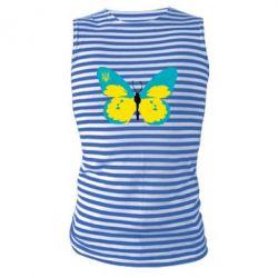 Майка-тельняшка Український метелик - FatLine