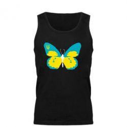Мужская майка Український метелик - FatLine