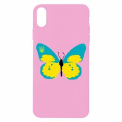 Чехол для iPhone X/Xs Український метелик
