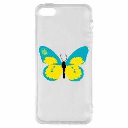 Чохол для iphone 5/5S/SE Український метелик