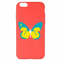 Чехол для iPhone 6 Plus/6S Plus Український метелик