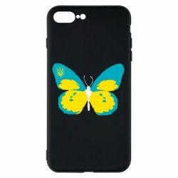 Чехол для iPhone 8 Plus Український метелик