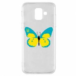 Чехол для Samsung A6 2018 Український метелик