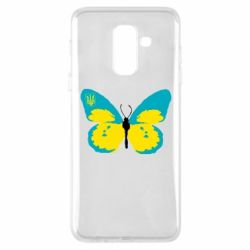 Чехол для Samsung A6+ 2018 Український метелик