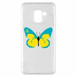 Чохол для Samsung A8 2018 Український метелик