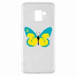 Чохол для Samsung A8+ 2018 Український метелик