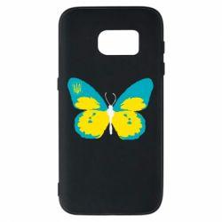 Чохол для Samsung S7 Український метелик