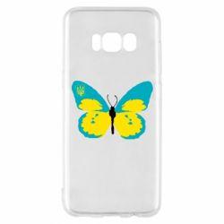Чохол для Samsung S8 Український метелик