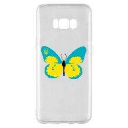 Чохол для Samsung S8+ Український метелик