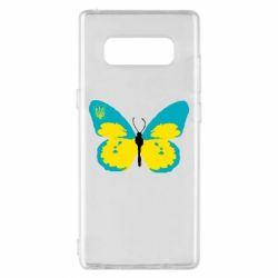 Чохол для Samsung Note 8 Український метелик