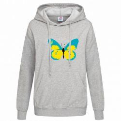 Женская толстовка Український метелик - FatLine