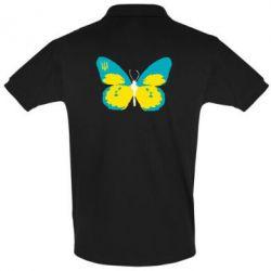 Футболка Поло Український метелик - FatLine
