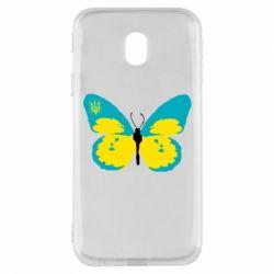 Чехол для Samsung J3 2017 Український метелик