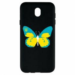 Чехол для Samsung J7 2017 Український метелик