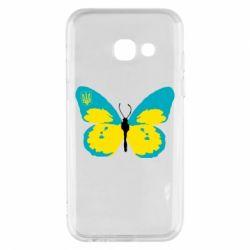 Чехол для Samsung A3 2017 Український метелик