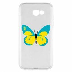 Чохол для Samsung A7 2017 Український метелик