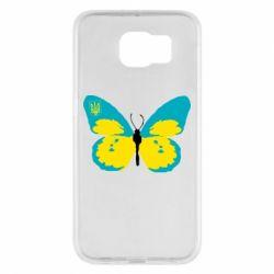 Чохол для Samsung S6 Український метелик