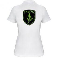 Женская футболка поло Український оперативний підрозділ