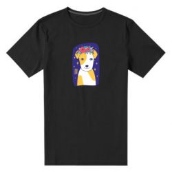 Чоловіча стрейчева футболка Український пес