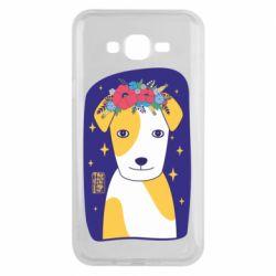 Чохол для Samsung J7 2015 Український пес