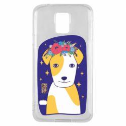 Чохол для Samsung S5 Український пес