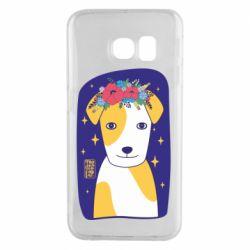 Чохол для Samsung S6 EDGE Український пес