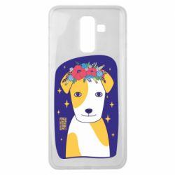 Чохол для Samsung J8 2018 Український пес