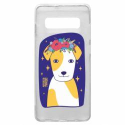 Чохол для Samsung S10+ Український пес