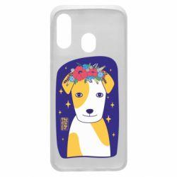 Чохол для Samsung A40 Український пес