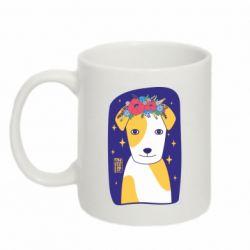 Кружка 320ml Український пес