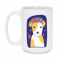 Кружка 420ml Український пес