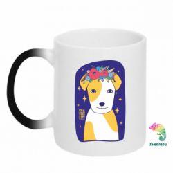 Кружка-хамелеон Український пес